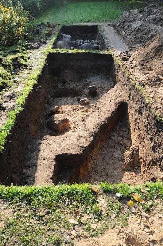 Ausgrabung 2008