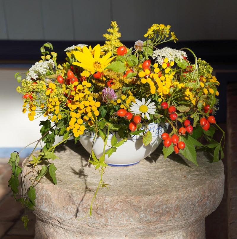 Erntedank in der Inselkirche Hiddensee